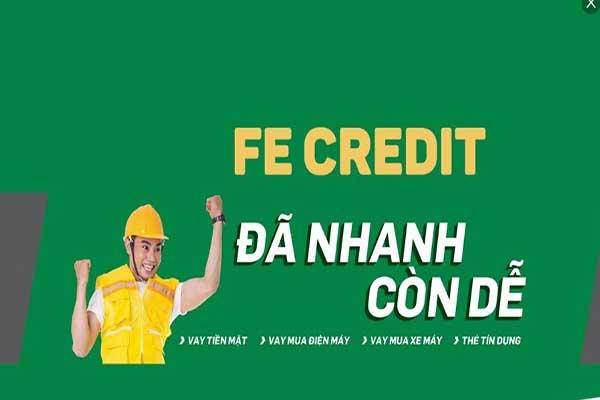 Vay tiền nóng 10 triệu FE Credit