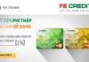 Vay tiền qua thẻ tín dụng FE Credit