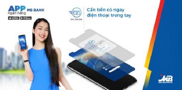 Vay tiền online MBBank