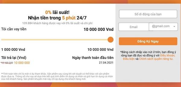 Hướng dẫn vay tiền Online trên Money Cat