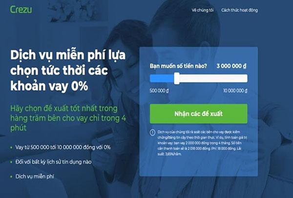 Vay tiền nhanh tại Biên Hòa chỉ cần CMND trên App Crezu