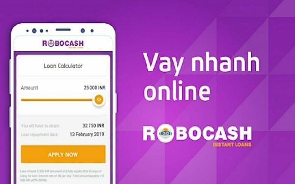 Robocash - Vay tiền Online qua CMND
