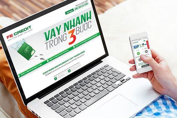 Vay tiền online dễ dàng tại FE Credit