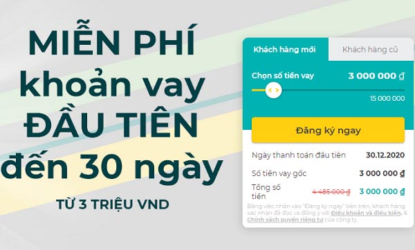Vay tiền Online trên App Tamo