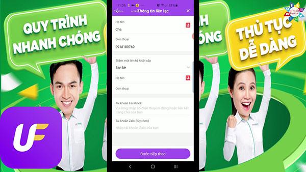 Hướng dẫn cách vay tiền Online Ufun đến 10 triệu, lãi chỉ 1.25%