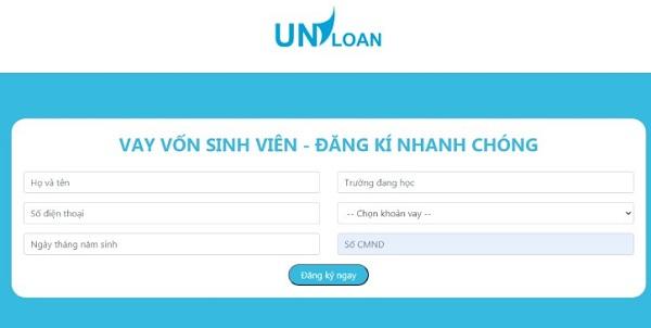 Hướng dẫn cách vay vốn sinh viên Uniloan lên đến 5 triệu