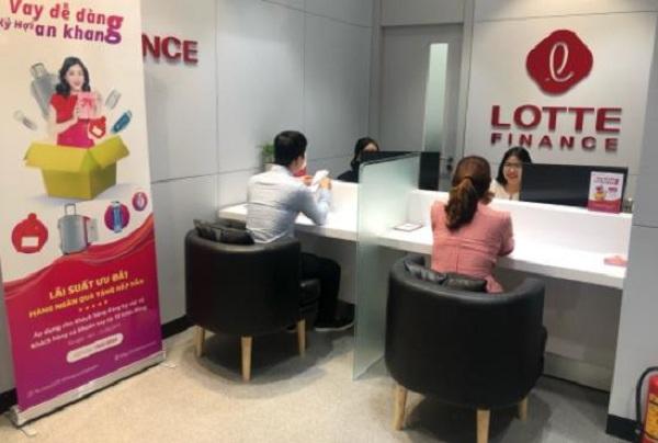 Vay tín chấp Lotte Finance