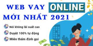 Top 5 web vay tiền online mới nhất năm 2021